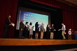 2018 NSD Service Recognition Awards