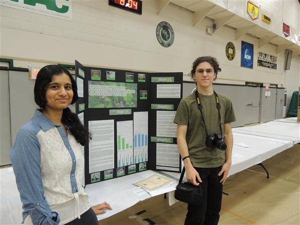 NHS student are winners in science competition