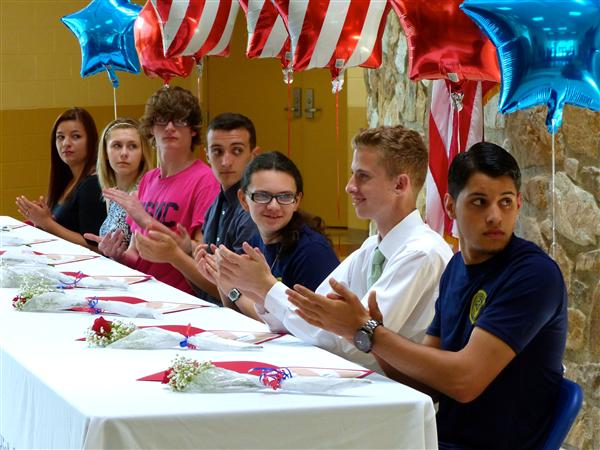 NHS honors students joining the military