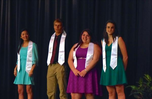 NHS Seniors receive awards, scholarships