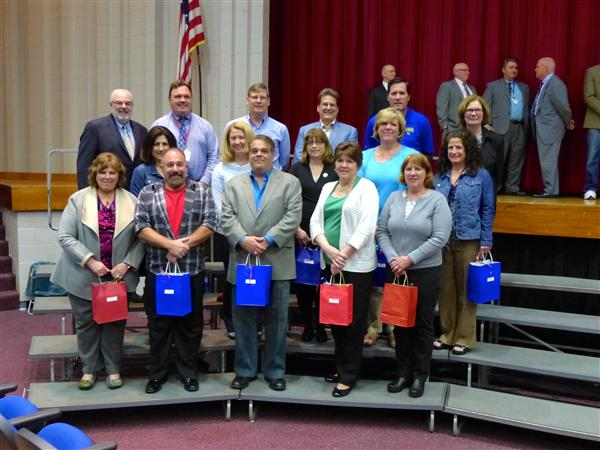 NSD staff honored for years of service