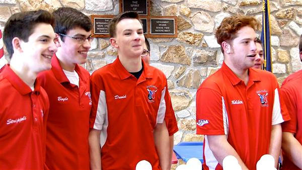 NHS boys bowling team takes state title