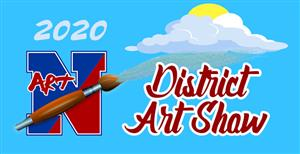 2020 District Art Show banner