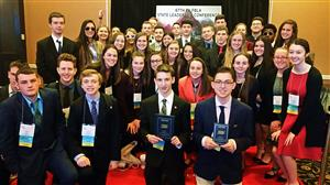 NHS Future Business Leaders excel at state competition