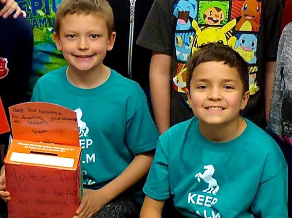 Heckman 4th-graders pay it forward