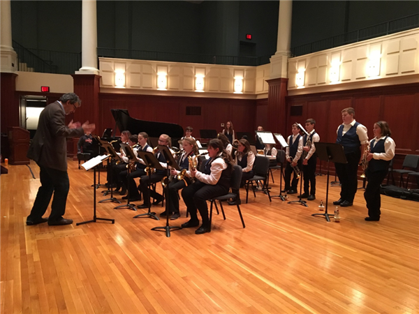 Poquessing Jazz Band goes to college