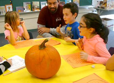 Pumpkin Science at Miller ES