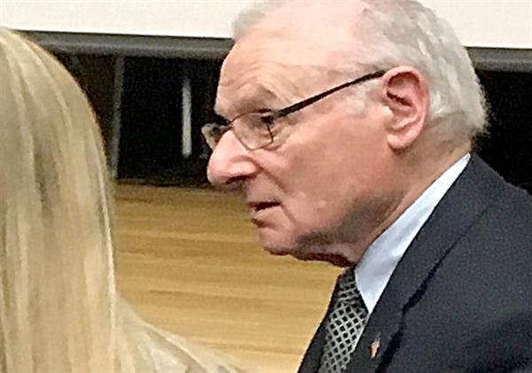 Sandburg hears Holocaust stories firsthand