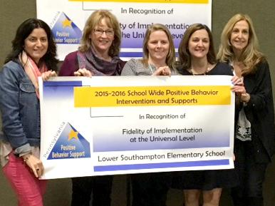3 NSD Positive Behavior programs recognized