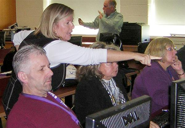Teachers tackle tech in multi-district workshop
