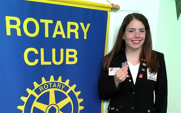 Rotary sends NHS student to study in France