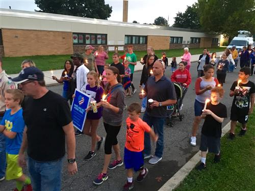 Community rallies to fight hatred