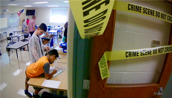 Forensics Science Camp