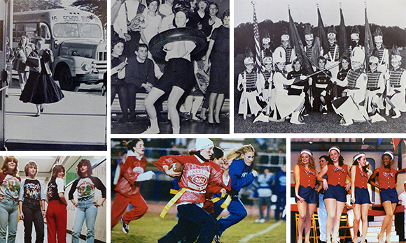 Collage of Neshaminy alumni photos