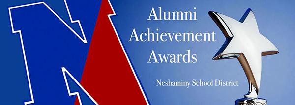 NHS Alumni Achievement Award banner