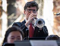 NHS Jazz Band at Temple University