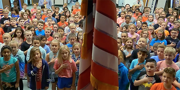 Constitution Day at Buck Elementary