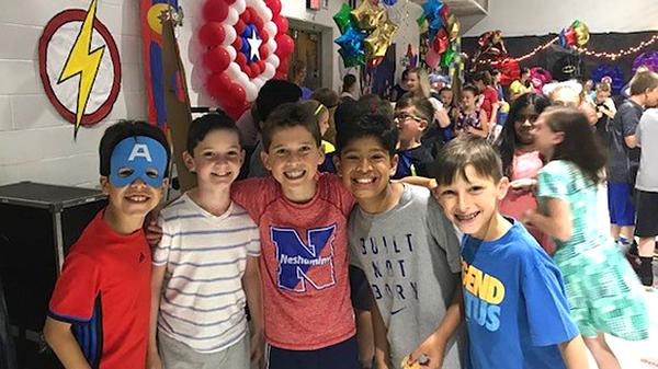 Buck fourth-grade celebrates move-up day