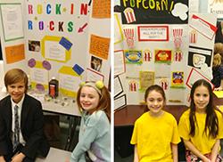 Buck Science Fair entrants