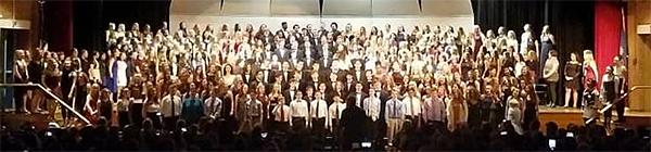 Choir showcase at Neshaminy HS