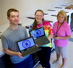 Chromebooks at Neshaminy High School
