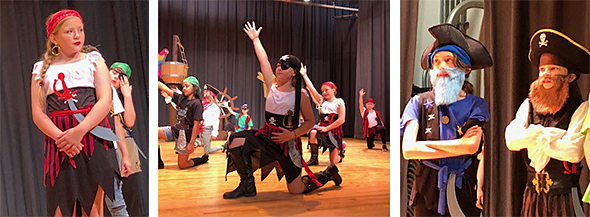 Pirates musical at Ferderbar