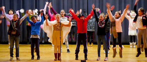 Ferderbar production of 'Snow Biz'