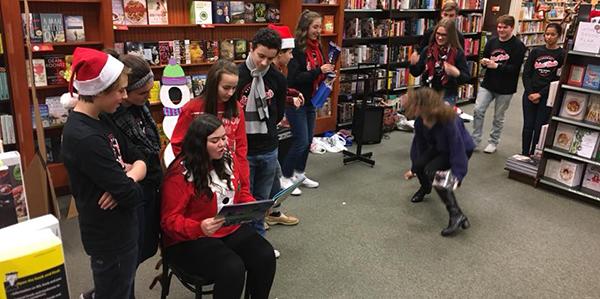 Roadies at Barnes and Noble