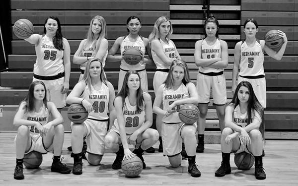 Neshaminy girls basketball team photo