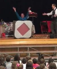 Magic show at Hoover