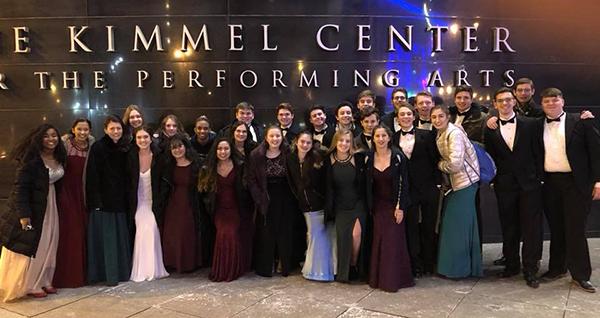 Neshaminy Select Choir at the Kimmel Center
