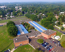 Aerial photo of Lower Southampton Elementary School
