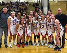 Maple Point Girls Basketball Team