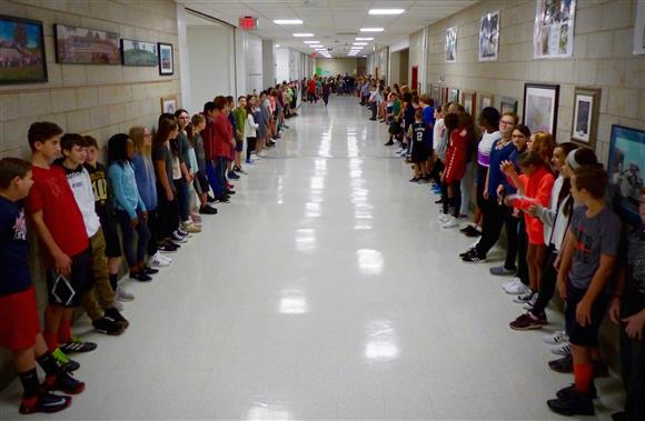 Hands Across the Halls