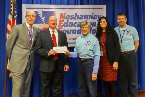 Neshaminy Edcutation Foundation donation