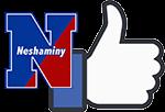 Neshaminy and Facebook logos