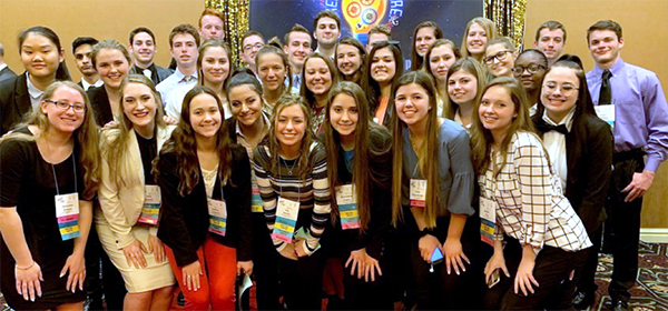 Future Business Leaders of America group photo
