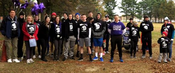 FBLA walk participants