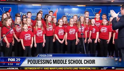 Poquessing Choir on FOX 29