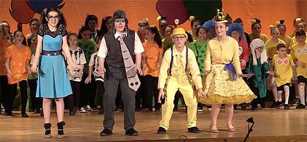 Seussical at Poquessing Middle School