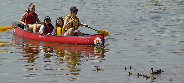 Middle School boating program