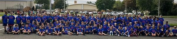 Fifth grade at Sandburg Middle School