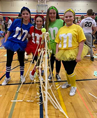 Tower of Power competitors with their entry