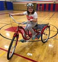 Inclusive cycle at Sandburg