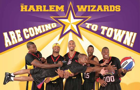 Harlem Wizards team photo