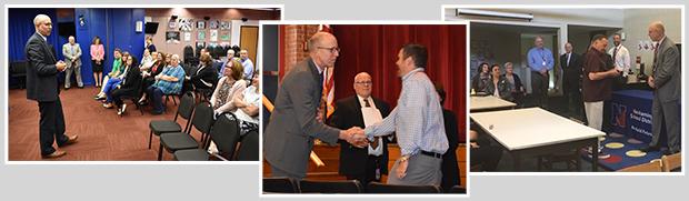 Retiree and service milestone award ceremonies