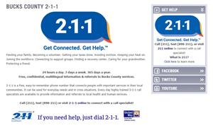 211 - Get Help - Get Connected