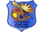 Outstanding Visual Arts Community badge