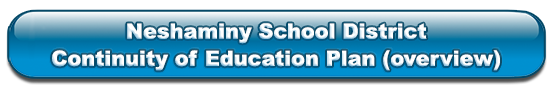 Neshaminy Continuity of Education Plan overview
