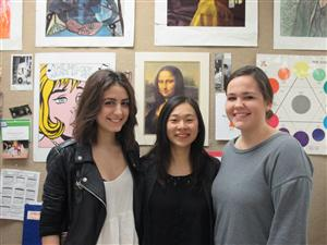 Ana, Christina, and Chase 2016 Scholastic Art Award Recipients